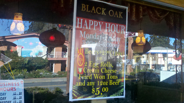 Golden Palace Happy Hour