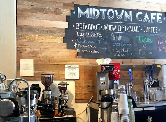 Midtown Cafe Counter
